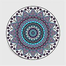 GHGD 120X120-Bohemian Mandala Round Carpet