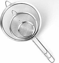 GHGHF 1Pc Stainless Steel Kitchen Flour Handheld