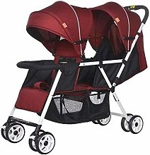 GHH Double Strollers Baby Pram Tandem Buggy
