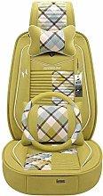 ghjk Car Seat Cushion, Car Seat Cushion, Linen