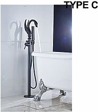 GHKUFH Bathtub faucet Bathtub Faucet Swan Style
