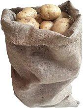 GHL Hessian Jute Potato Sacks 30cm x 45cm (Pack of