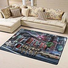 Ghost Busters Area Rug Floor Rugs Living Room