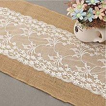 GHTYN European White Lace Tablecloth Wedding