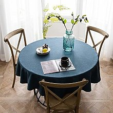GHTYN Table Cloth Round Wedding Party Table Cover