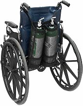 GHzzY Double Oxygen Cylinder Bag - Wheelchair