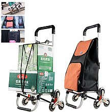 GHzzY Foldable Shopping Cart with 3 Round
