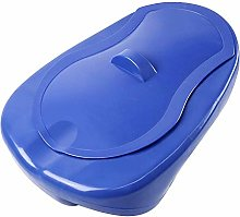 GHzzY Portable Bedpan with Cover - Thick Bedside
