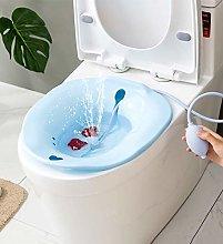 GHzzY Sitz Bath for Standard Toilet -