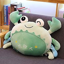 Giant Cartoon Crab Plush Toy, Cute Baby Red Pillow