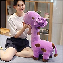 Giant Giraffe Plush Toy, Cute Baby Pillow Yellow