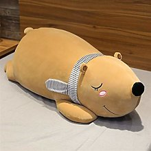 Giant Polar Bear Plush Toy, Cute Baby Pillow
