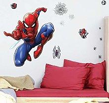 Giant Repositionable Spiderman Sticker