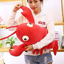 Giant Simulation Lobster Plush Toy, Cute Baby Red