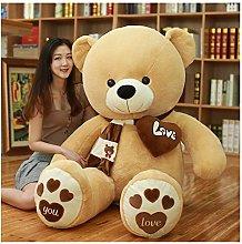 Giant Teddy Bear Plush Toy, Cute Brown Bears Baby