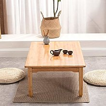 GIAO Portable Side Table Coffee Tables Bamboo