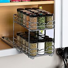 Gidenfly Pull Out Spice Rack Organizer For