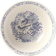 Gien 'Oiseau Bleu monochrome' cereal bowl