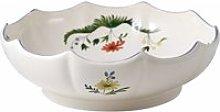 Gien 'Oiseaux Paradis' fruit bowl 26 cm