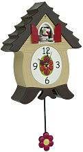GIFT COMPANY 70106 Cuckoo Clock BarkCoo Dog
