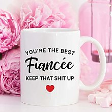 Gift for Fiancee Mug Anniversary Gifts for Fiance
