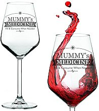 Gift for Mum - Mummy's Medicine Wine Glass for