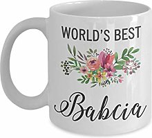 Gift Idea for Babcia - Mug - Worlds Best Awesome