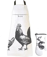 Gift Republic Victoriana Apron and Mitt Set Mother