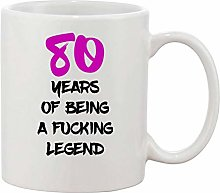 Gifts & Gadgets Co. 80 Year of Being A Fucking