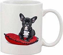 Gifts & Gadgets Co. Bulldog On Pillow Mug 11 oz