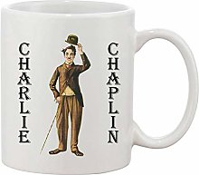 Gifts & Gadgets Co. Charlie Chaplin Mug 11 oz Heat
