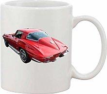 Gifts & Gadgets Co. Classic Corvette Red Mug 11 oz