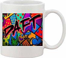 Gifts & Gadgets Co. Daft Sign Graffiti Mug 11 oz