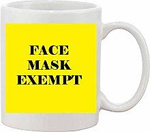Gifts & Gadgets Co. Face Mask Exempt Mug 11 oz