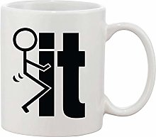 Gifts & Gadgets Co. Fuck IT Mug 11 oz Heat