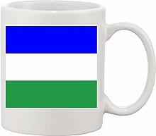 Gifts & Gadgets Co. Ladinia Italy Flag Mug 11 oz