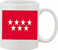 Gifts & Gadgets Co. Madrid Span Flag Mug 11 oz