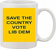 Gifts & Gadgets Co. Save The Country Vote Lib Dem
