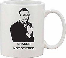 Gifts & Gadgets Co. Shaken Not Stirred Mug 11 oz