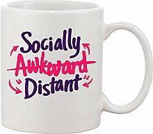 Gifts & Gadgets Co. Socially Awkward Distance Mug