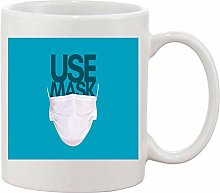 Gifts & Gadgets Co. Use Mask Mug 11 oz Heat