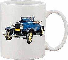Gifts & Gadgets Co. Vintage 1930 Convertible Mug