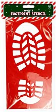 Giftsbynet Santas Boot Footprint Stencil Father