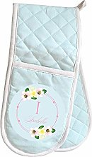 GiftsOnline4U Personalised Oven Gloves for Women