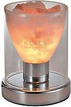 Giggi Torch Shape Glass Himalayan Salt LAMP with