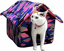 GIMOCOOL Waterproof Cat Tent, Cat Or Dog House