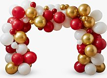 Ginger Ray Christmas Fireplace Balloon Arch