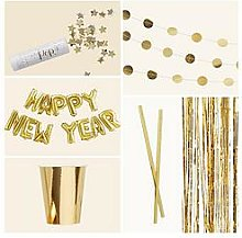 Ginger Ray Gold New Years Eve Party Bundle