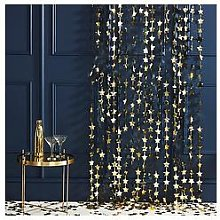 Ginger Ray Gold Star Curtain Party Backdrops Pack