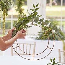 Ginger Ray Hanging Chandelier Wedding Hoop -